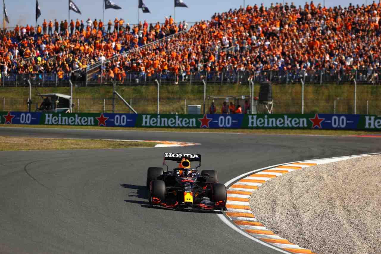 F1 Olanda streaming gratis