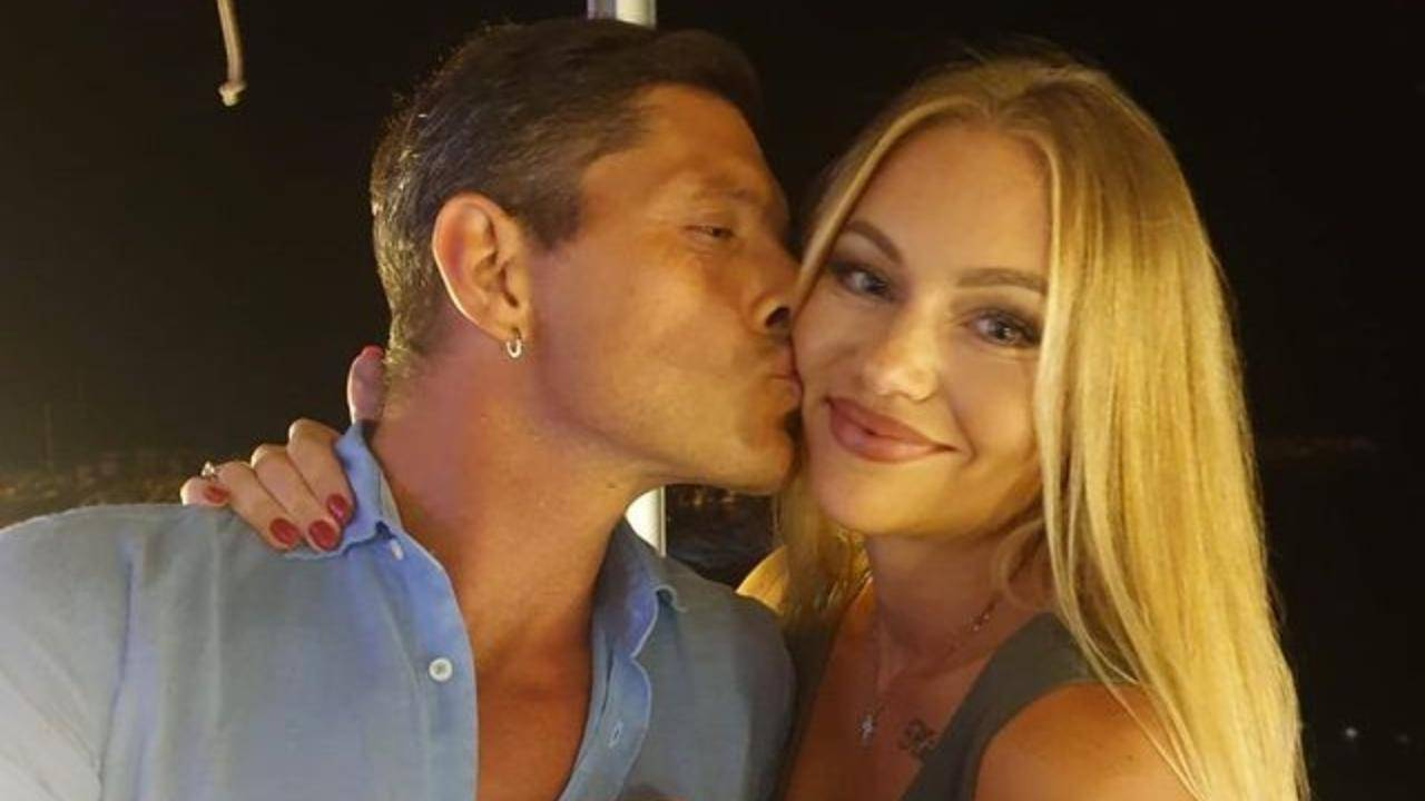 GF Vip 6, Aldo Montano con sua moglie Olga Plachina (foto Instagram).