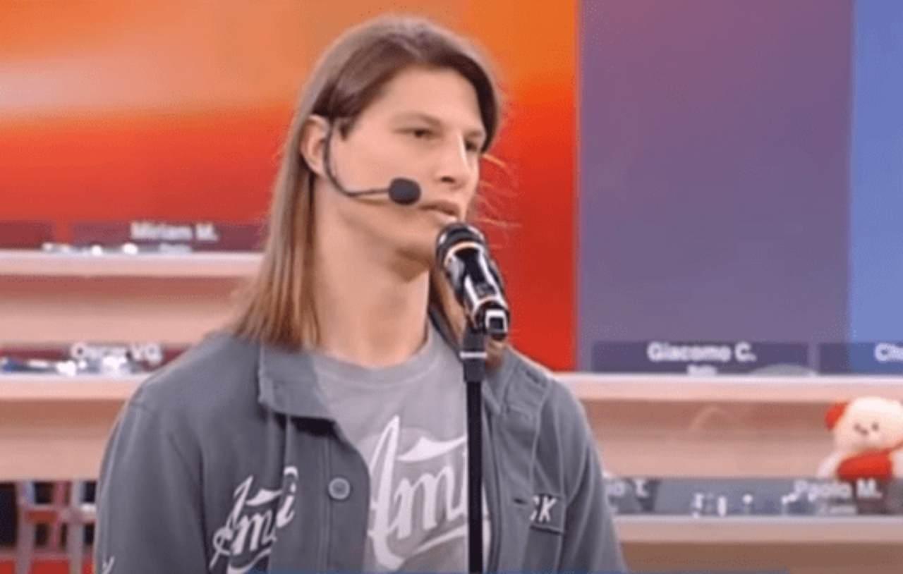 Amici 13, il cantante Nick Casciaro (foto Mediaset).