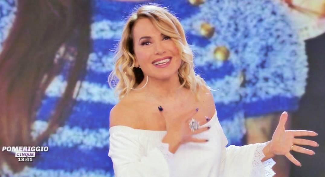 La presentatrice di Pomeriggio Cinque, Barbara D'Urso, in una foto d'archivio (© Mediaset).