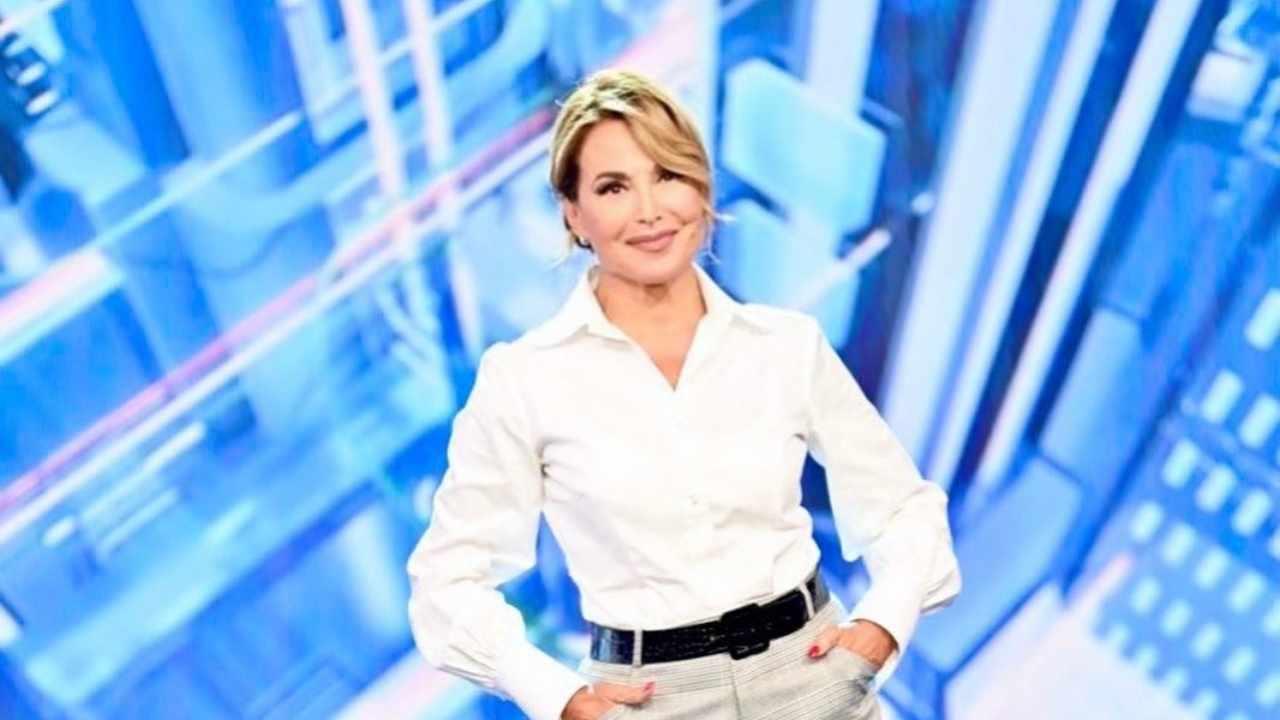 Pomeriggio Cinque, la conduttrice Barbara D'Urso (foto Mediaset).