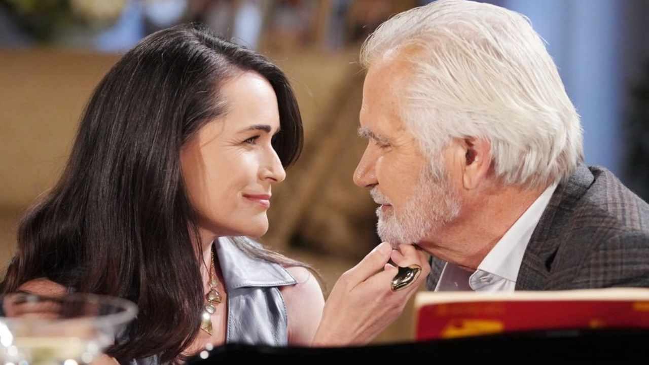 Eric e Quinn ritroveranno l'intesa? Ecco tutti i dettagli sugli orari e le date di Beautiful ed una vita dopo che Mediaset ha cancellato le puntate del 19 e 26 settembre (foto CBS).