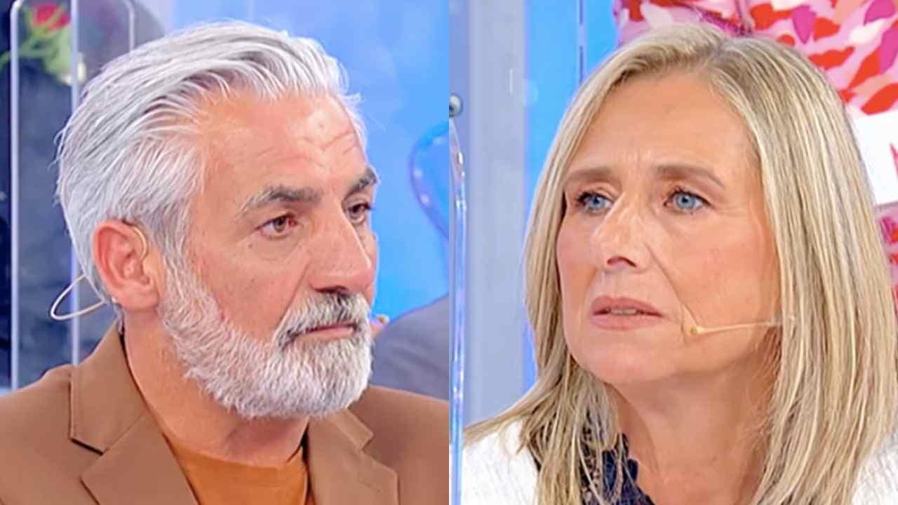 Uomini e Donne, il tronista Biagio e la dama Sara (foto Mediaset).