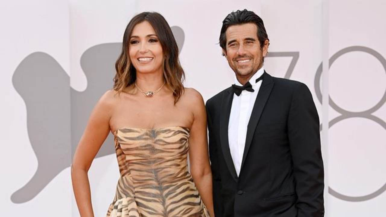 Festival di Venezia: Caterina Balivo con il marito Guido Brera (foto Getty Images).