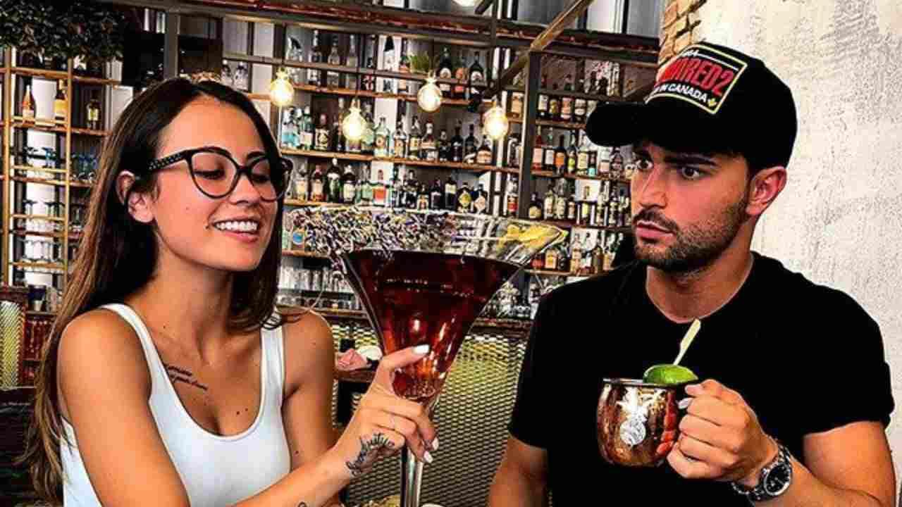 Chiara Rabbi e Davide Donadei, che si sono conosciuti a Uomini e Donne (foto Instagram).