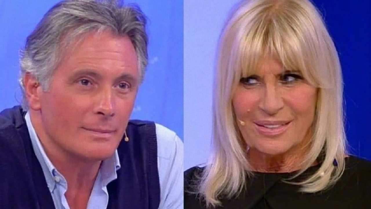 I due ex: Giorgio Manetti e Gemma Galgani (foto Mediaset).
