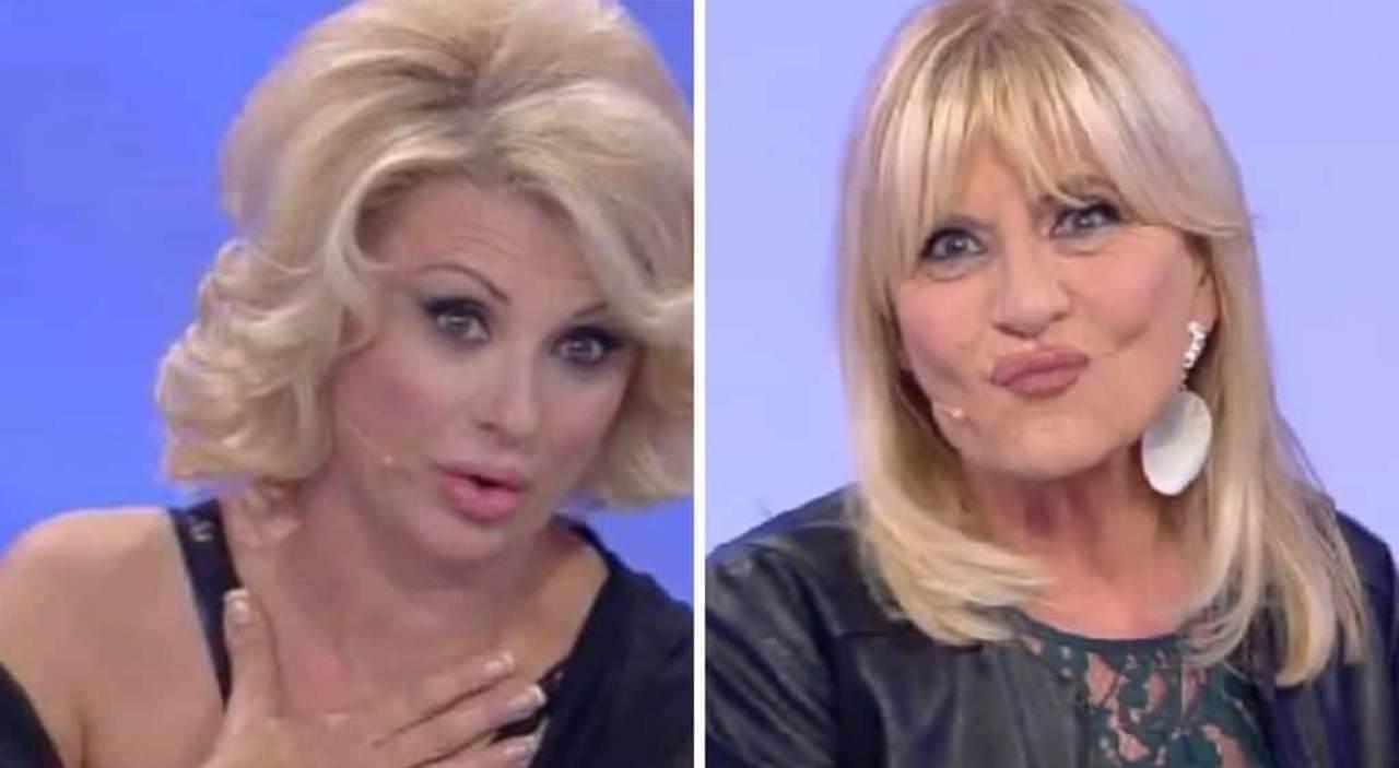 Rivali a Uomini e Donne: Tina Cipollari e Gemma Galgani (foto Mediaset).