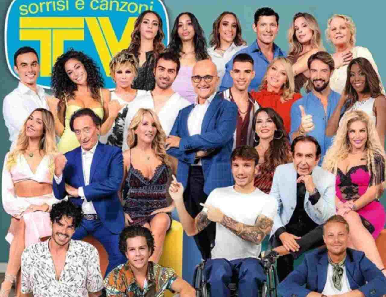 Sorrisi e Canzoni Tv dedica la consueta copertina agli inquilini del GF Vip .