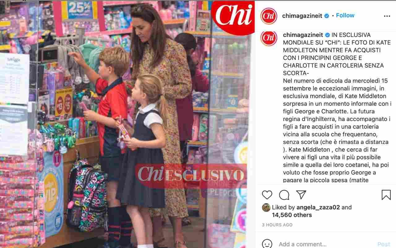 L'esclusiva mondiale di Chi: Kate Middleton cerca di regalare una vita normale ai suoi figli, proprio come Lady Diana.