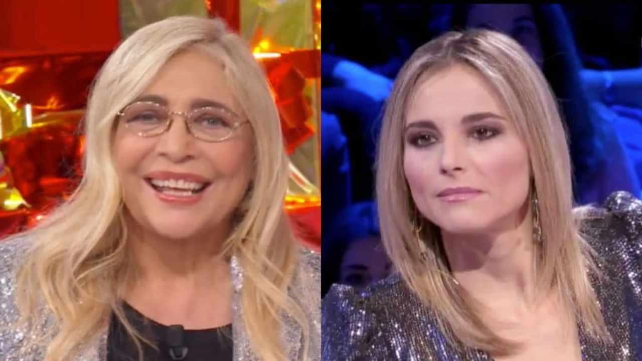 Conduttrici a confronto: Mara Venier e Francesca Fialdini (foto Rai).