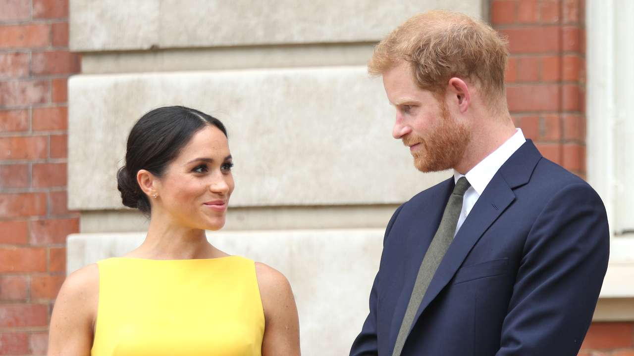 Royal Family, Meghan Markle e Harry Windsor durante il Youth Commonwealth del 5 luglio 2018 (foto di Yui Mok - WPA Pool/Getty Images).