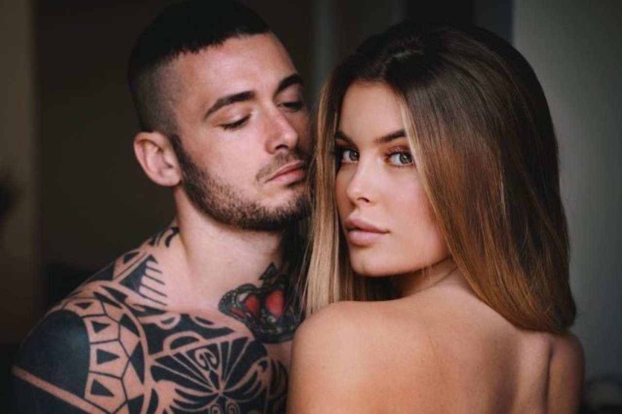 La coppia nata a Uomini e Donne: Sophie Codegoni e Matteo Ranieri (foto Instagram).