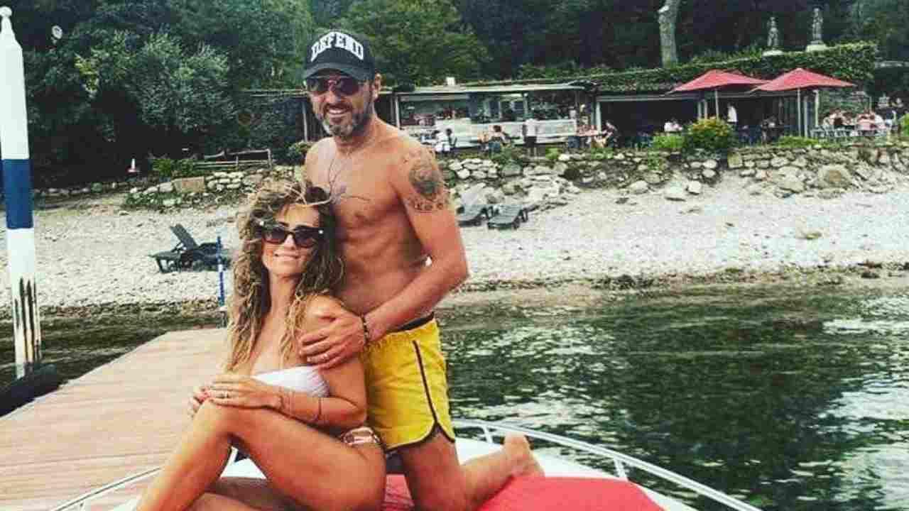 Vacanze a Bellagio, sul lago di Como, per Sossio e Ursula (foto Instagram).