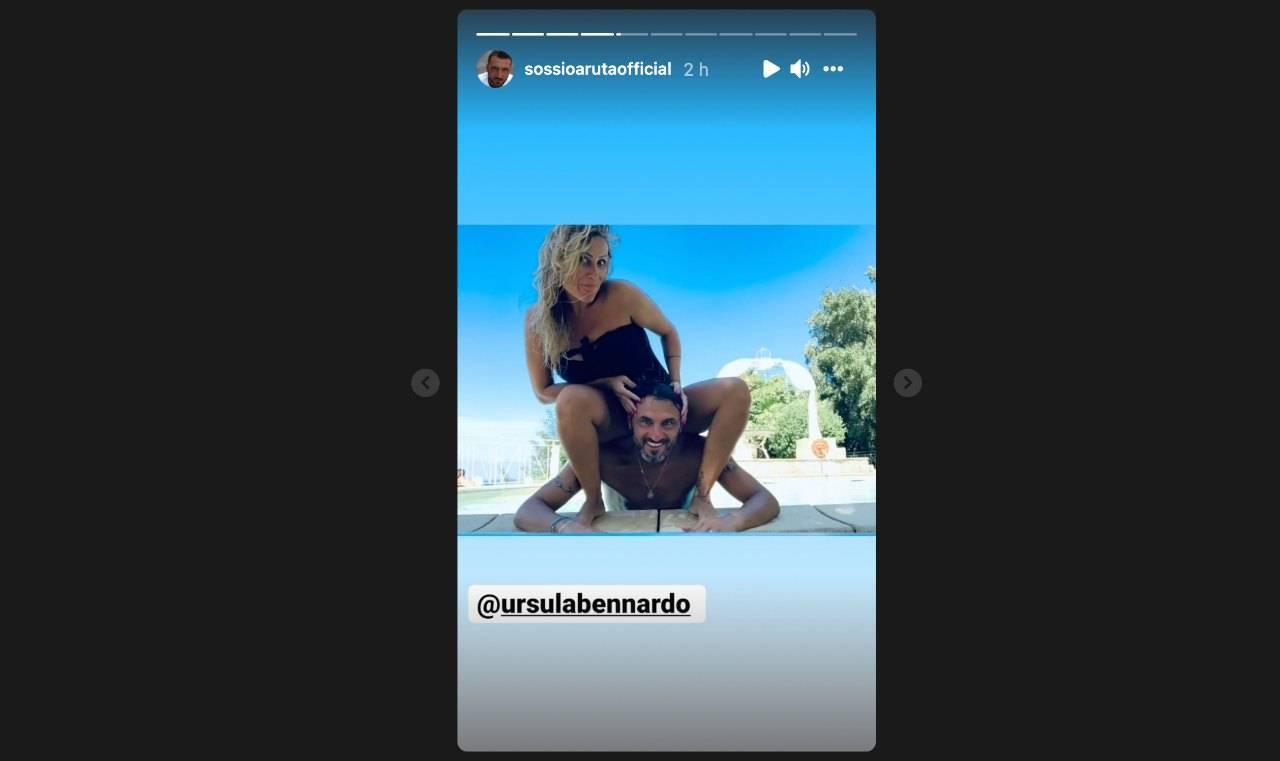 Sossio Aruta condivide alcune vecchie foto con Ursula Bennardo, vuole forse riconquistarla? (fonte: Instagram).