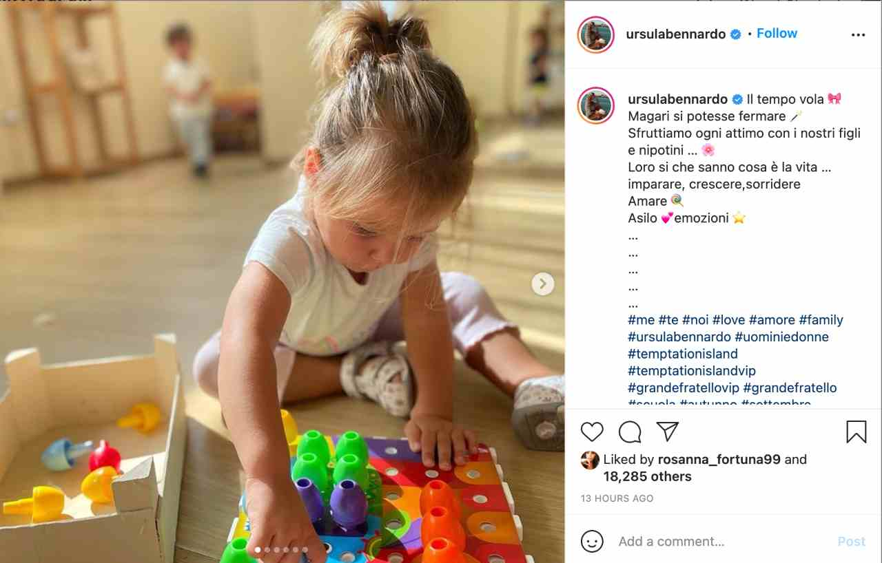 Il messaggio di Ursula Bennardo su Instagram: è forse una frecciatina al suo ex?