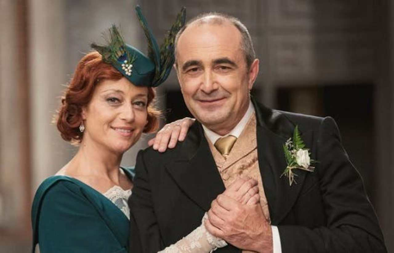 Una Vita, il matrimonio di Carmen e Ramon (foto Mediaset).