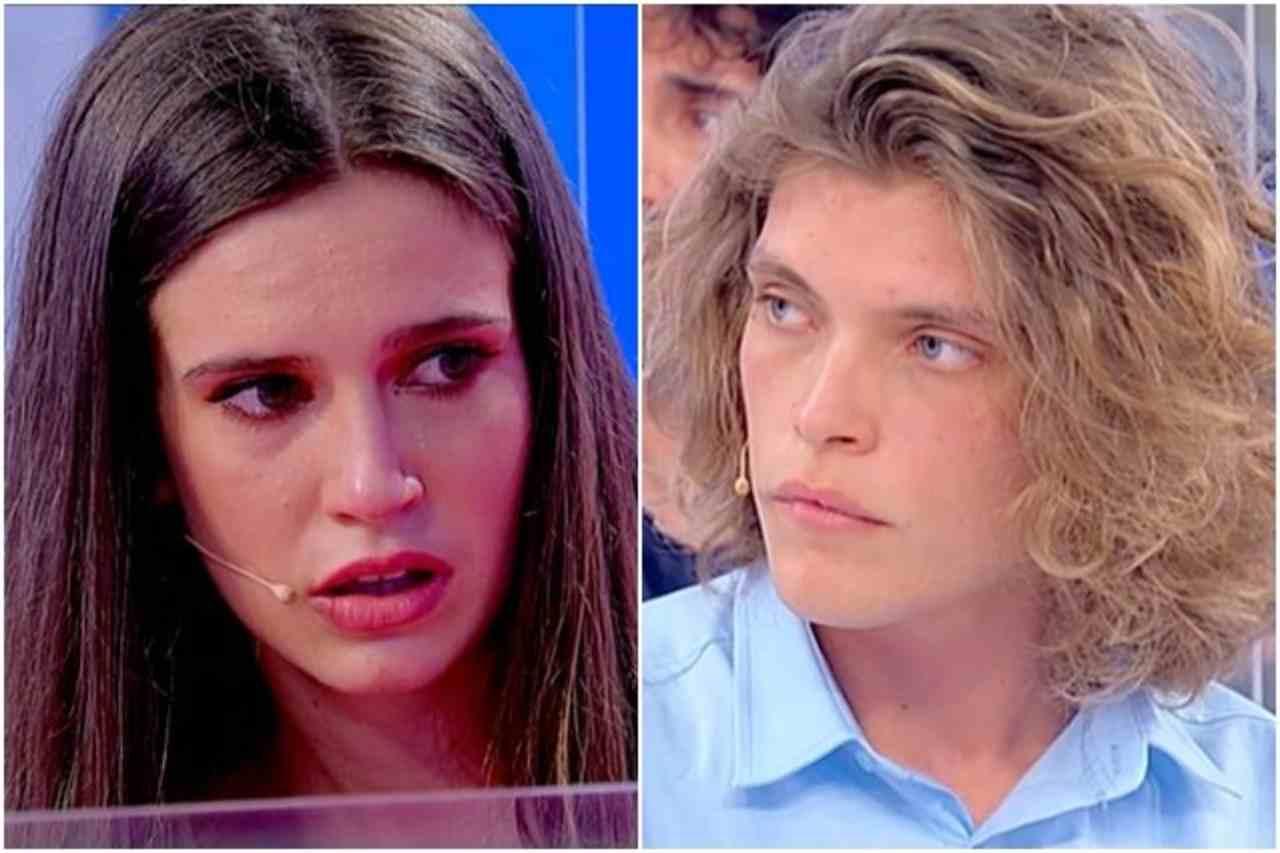 Uomini e Donne, Eugenia Rigotti e Massimiliano Mollicone (foto Mediaset).
