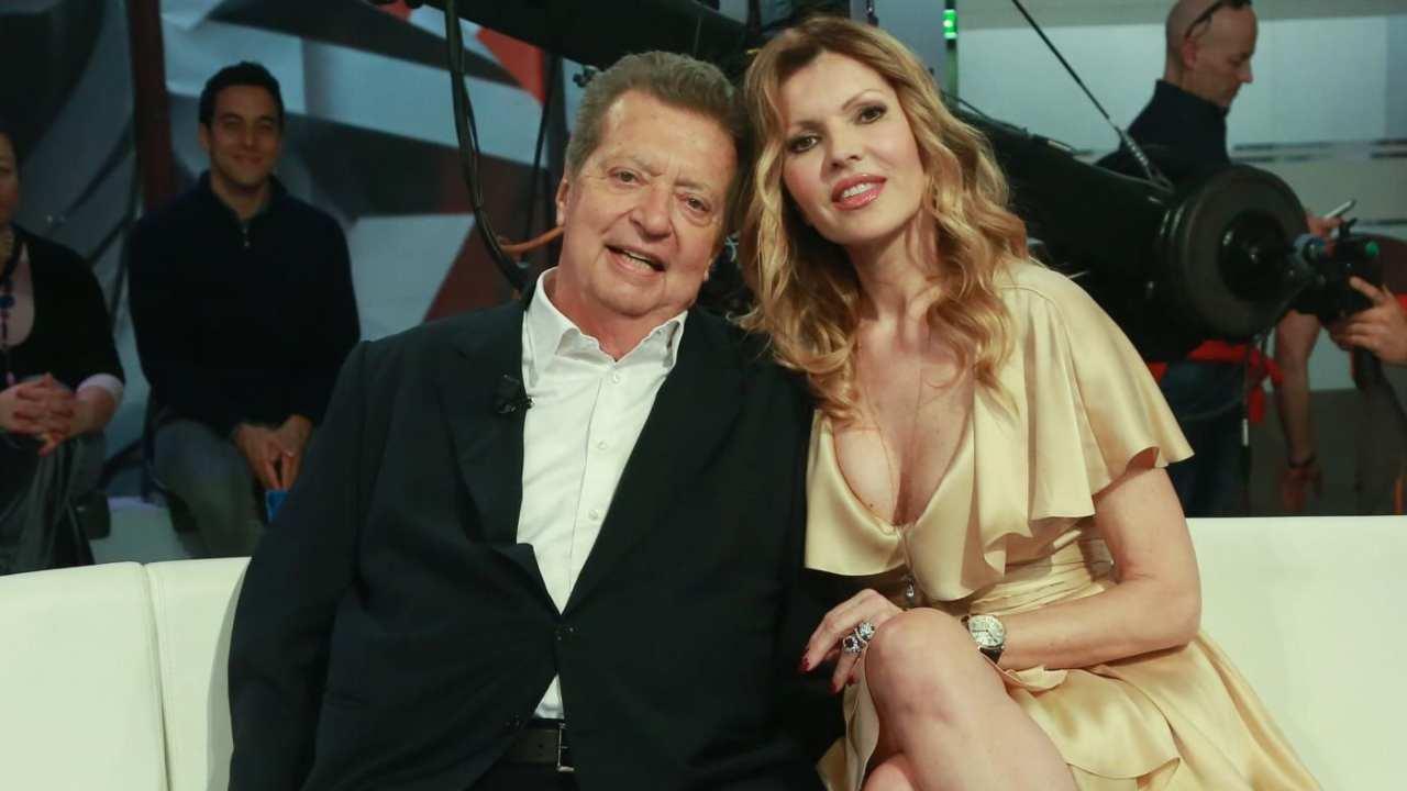 Rita Rusic e Vittorio Cecchi Gori ai tempi del loro matrimonio (foto Mediaset).