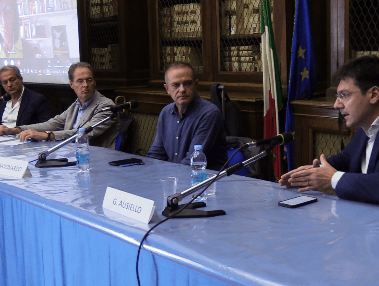 The Fall of Journalism, Napoli - Foto di Daniele Pallotta