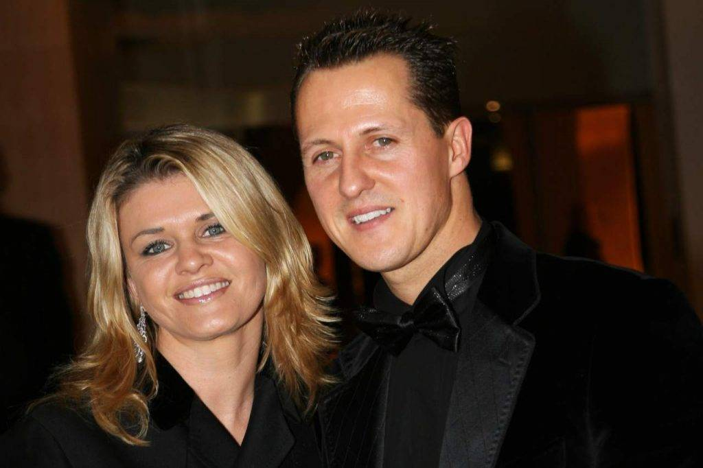 Corinna e Michael Schumacher