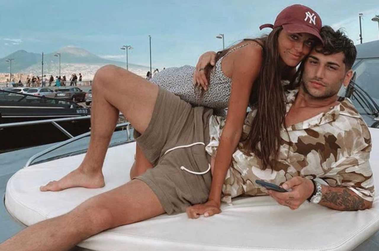 Jeremias Rodriguez e la fidanzata