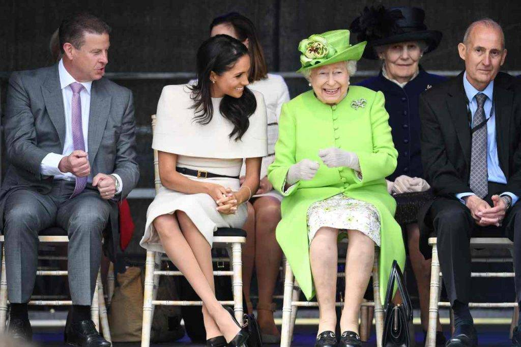 Meghan e la Regina Elisabetta