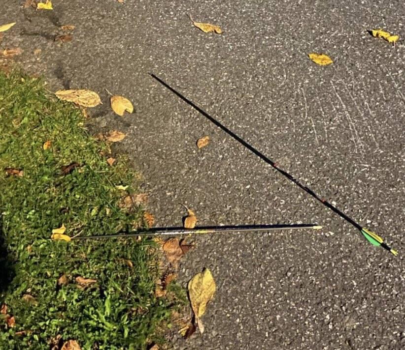 Attacco Norvegia, le frecce che sarebbero state utilizzate dall'attentatore - Foto di Twitter
