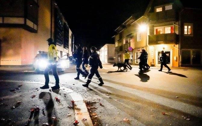 Attacco Norvegia - Foto di Twitter