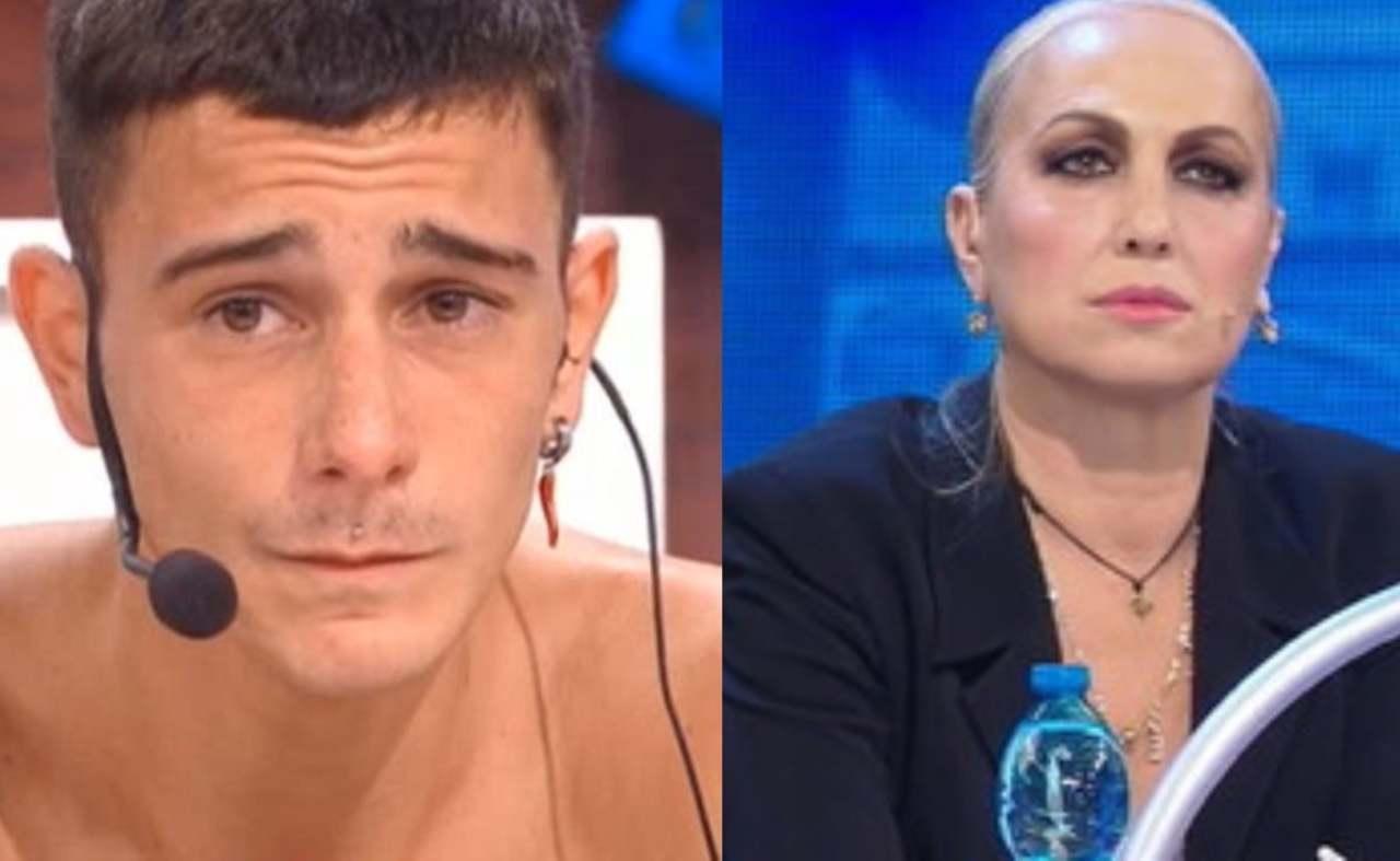 Amici 21, Alessandra Celentano ed il suo allievo Mirko Masia (foto Mediaset).
