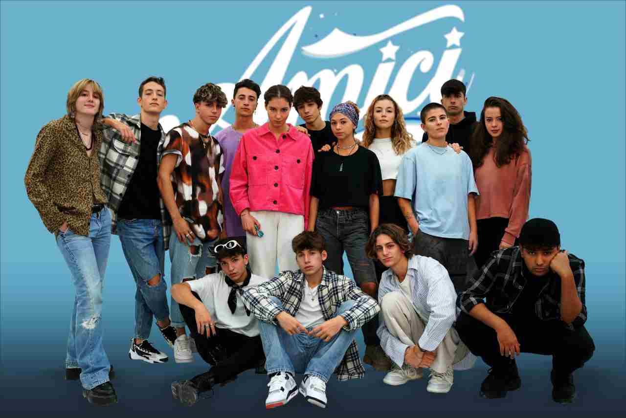 Gli studenti selezionati per Amici 21 (foto Mediaset).