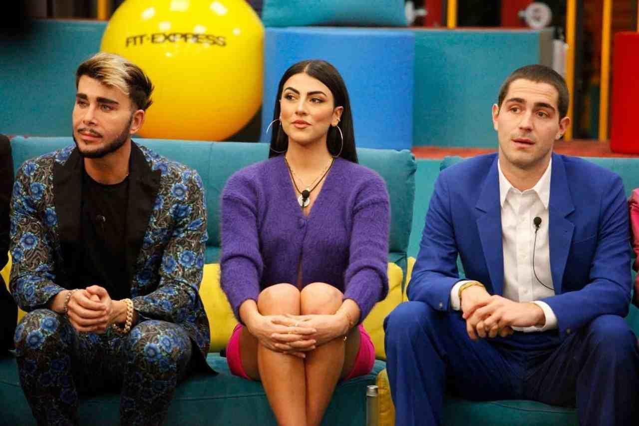 Alcuni concorrenti del GF Vip 5: Giacomo Urtis, Giulia Salemi e Pierpaolo Pretelli (foto Instagram).