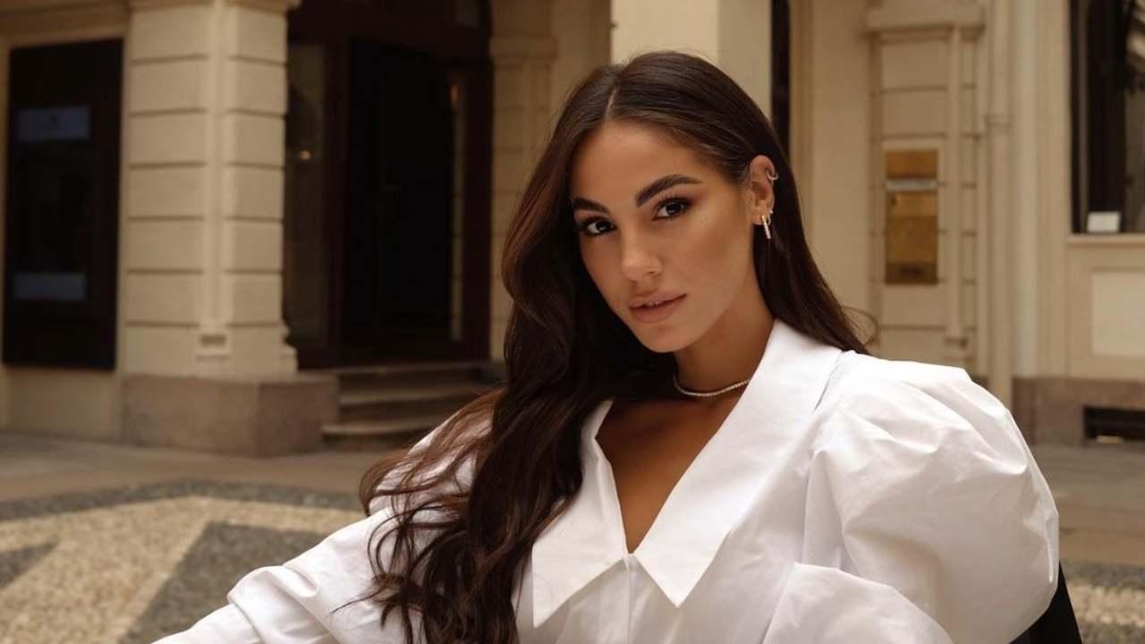 L'influencer e presentatrice Giulia De Lellis. Andrà a Sanremo 2022? (foto Instagram).