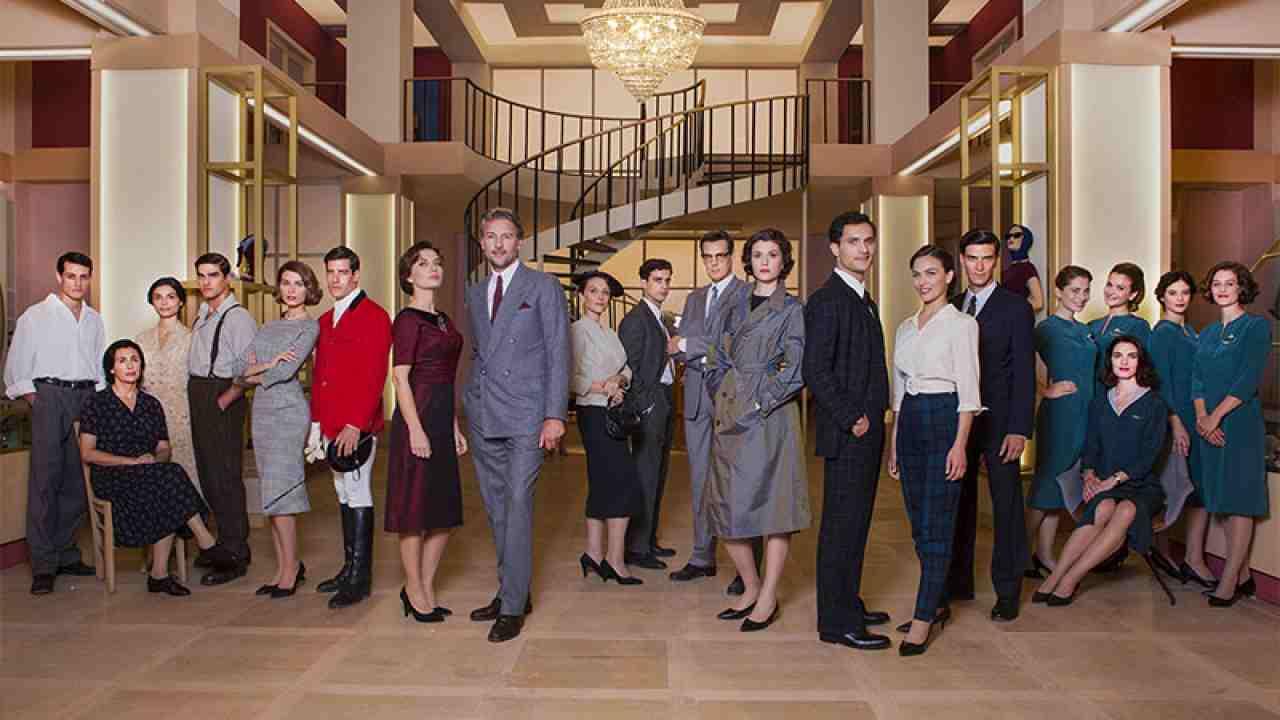 Il cast della soap opera di Rai 1 Il Paradiso delle Signore.