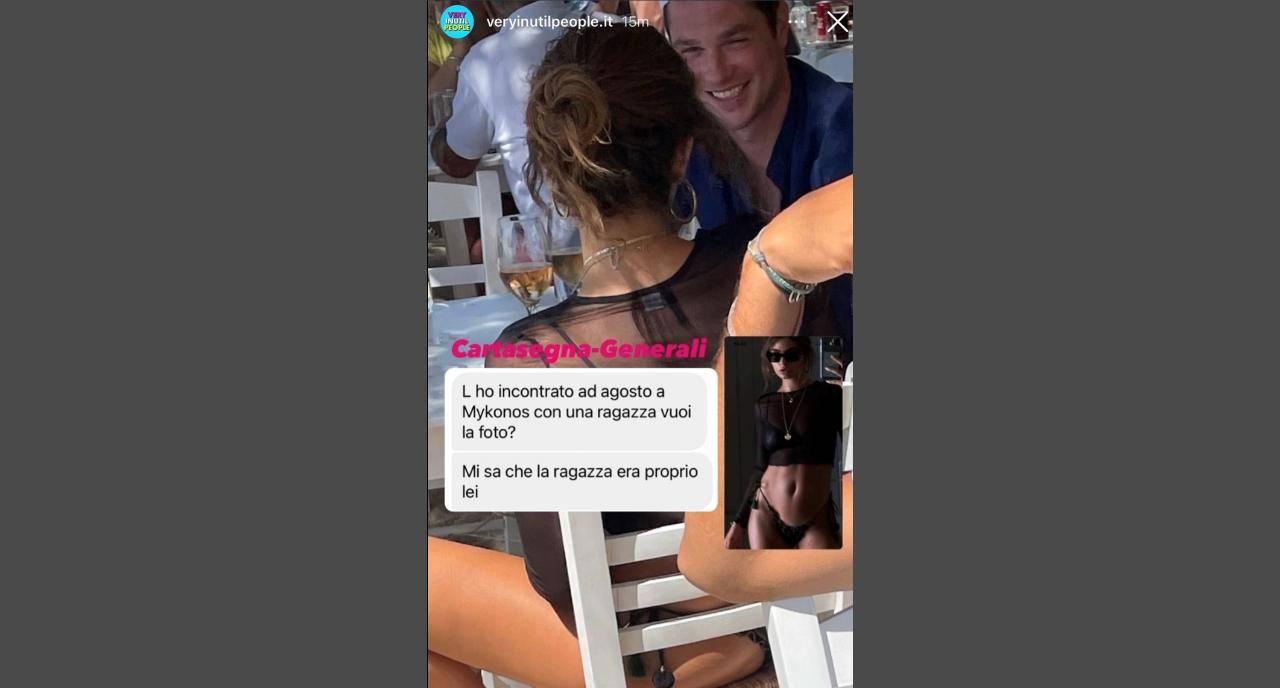 Carmela Generali e Marco Cartasegna sono una coppia già da questa estate? (fonte: Instagram VeryInutilPeople).